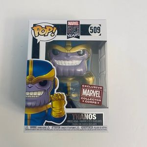 Funko Pop Thanos First Appearance Marvel Corps